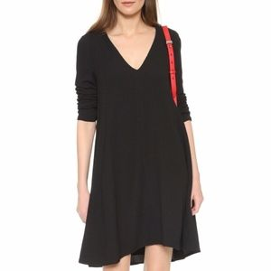 See By Chloe Long Sleeve Textured Jacquard Dress